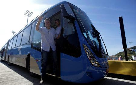 リオ五輪の観客移動でもBRTは大活躍した