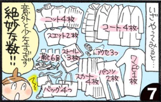 洋服を33着まで減らしたら<br />起こった5つのこと