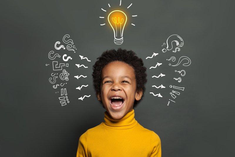 子どもは右脳優位、大人は左脳優位