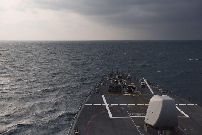 米ミサイル駆逐艦ミリアス