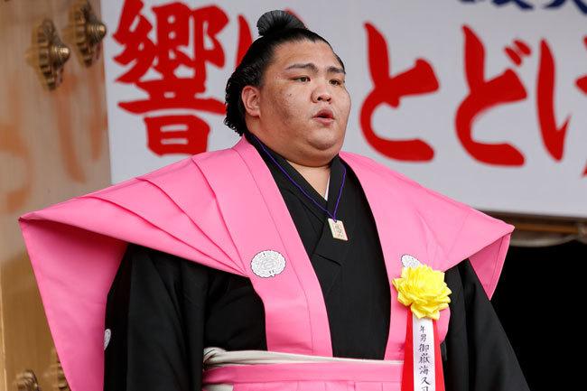 ●キャプ、alt 大相撲名古屋場所で初優勝した関脇御嶽海関