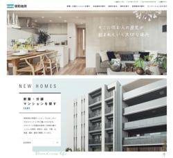 明和地所は、マンションの開発分譲や不動産売買仲介などを手掛ける不動産会社。