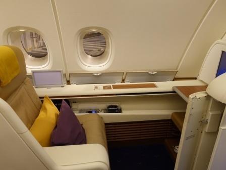 A380のシート