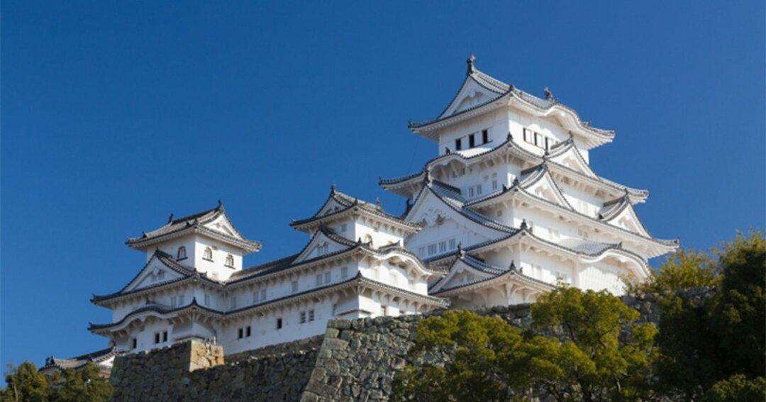 圧倒的人気を誇る姫路城