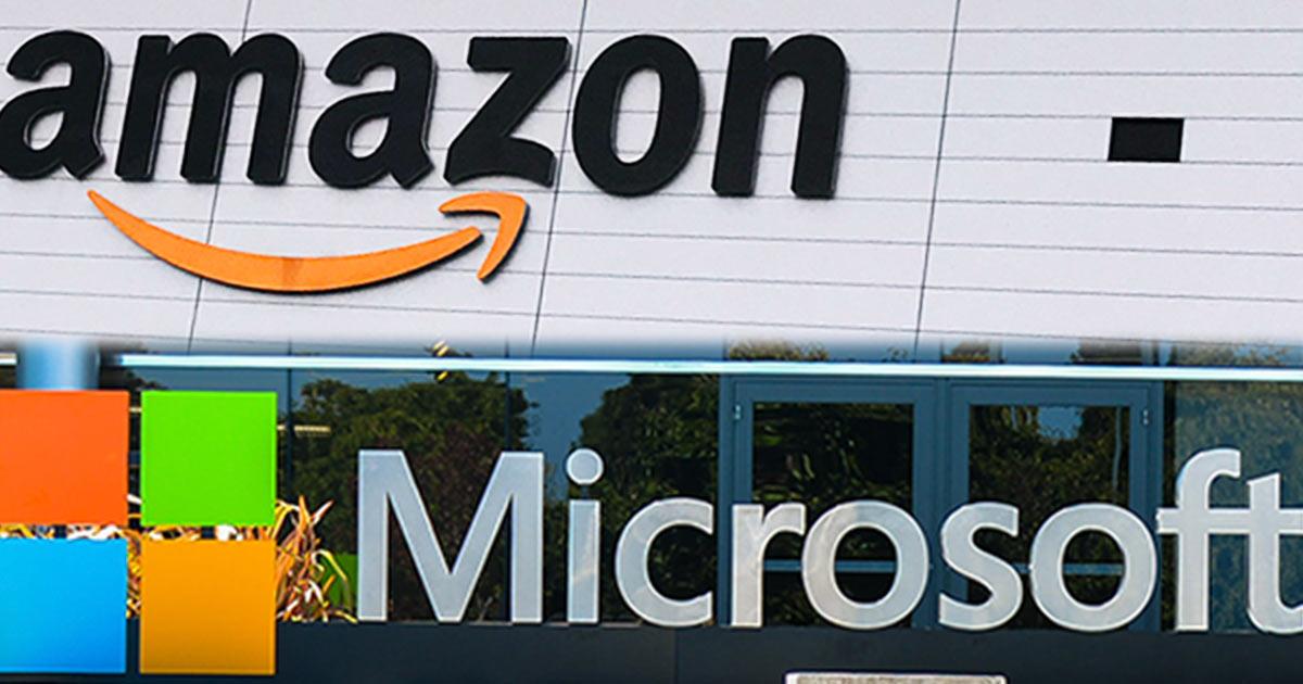 アマゾンとマイクロソフトの決算、クラウドは安泰か
