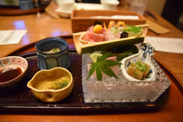 「箱根・翠松園」の夕食