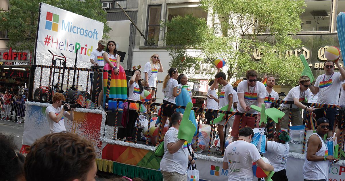 トランプ旋風でも揺るがない米国の「LGBT」サポート姿勢