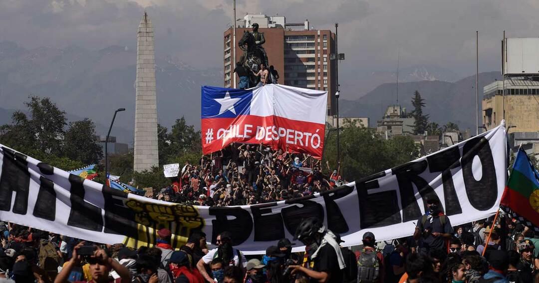 チリのデモ