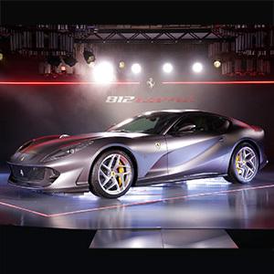 創立70周年迎えるフェラーリニューモデル「812スーパーファスト」を発表