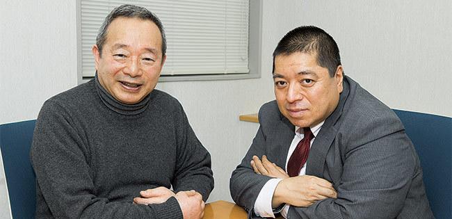 芳沢光雄氏と佐藤優氏