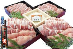 都城産「お米豚」ときめき3.7kgセット