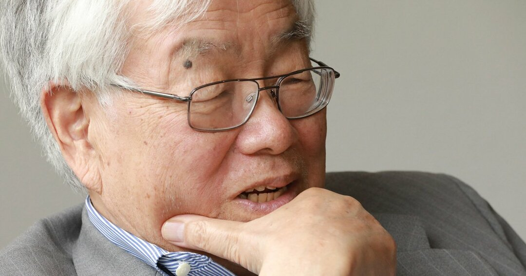 内閣官房参与の浜田宏一・エール大名誉教授