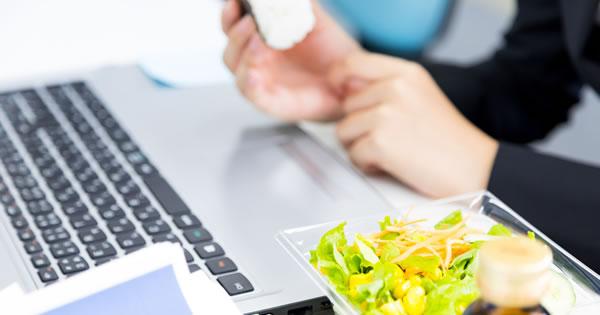 栄養もしっかり取れる効率的なランチ