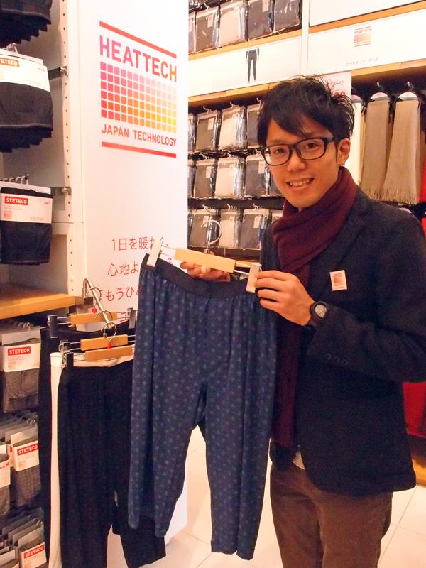 冬到来!日本のビジネスパーソンを温める<br />最新「ヒート衣料」の進化を実際に着てチェック!