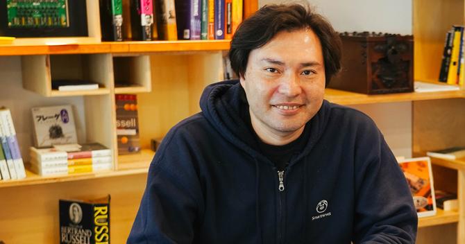 スマートニュース代表取締役会長兼社長の鈴木健氏