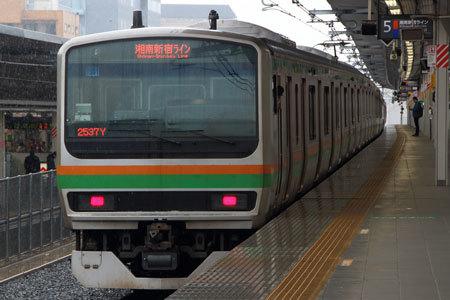 湘南新宿ラインも貨物線を活用したことで誕生した新線だ