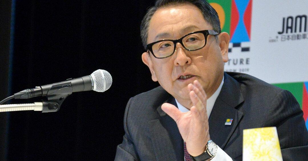豊田章男・トヨタ自動車社長