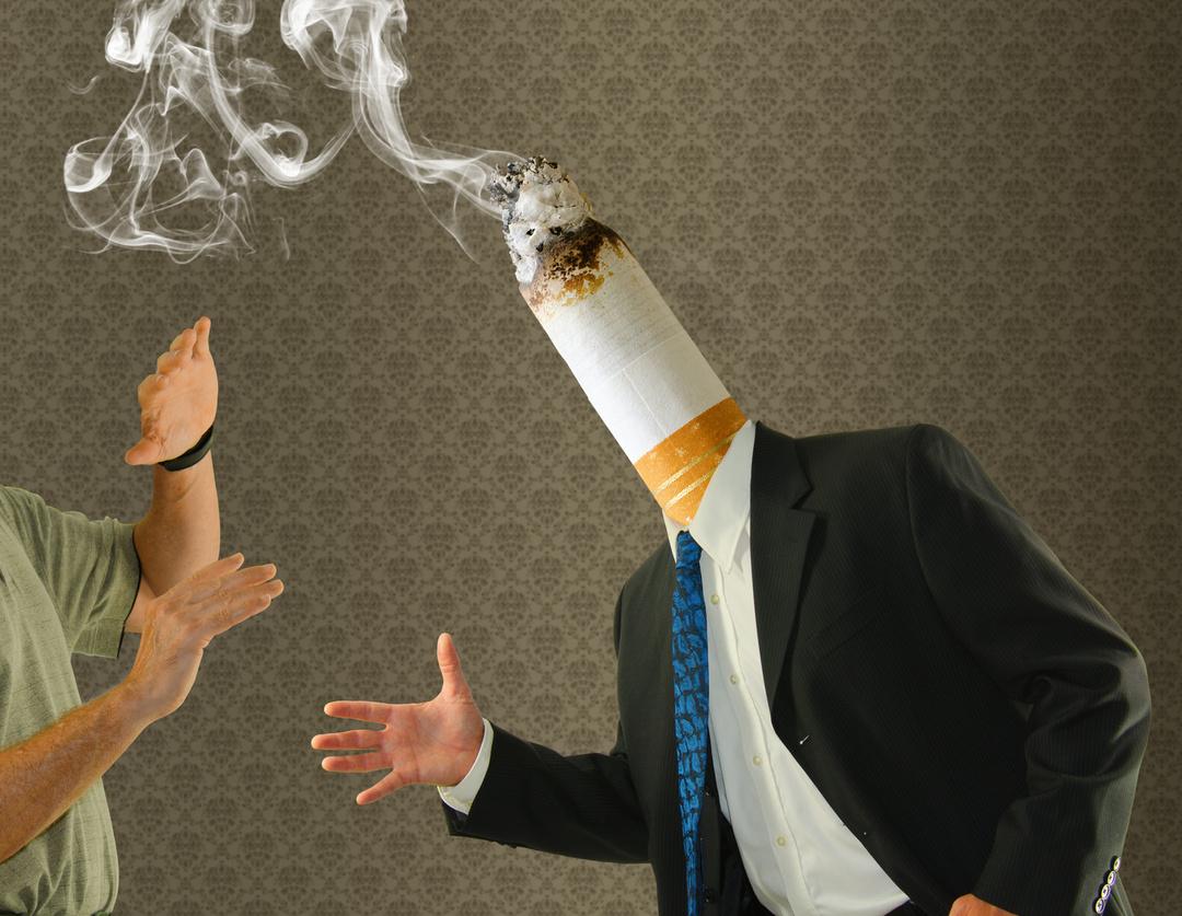 大西英男議員の事務所から受けた、<br />受動喫煙記事への抗議に対する回答