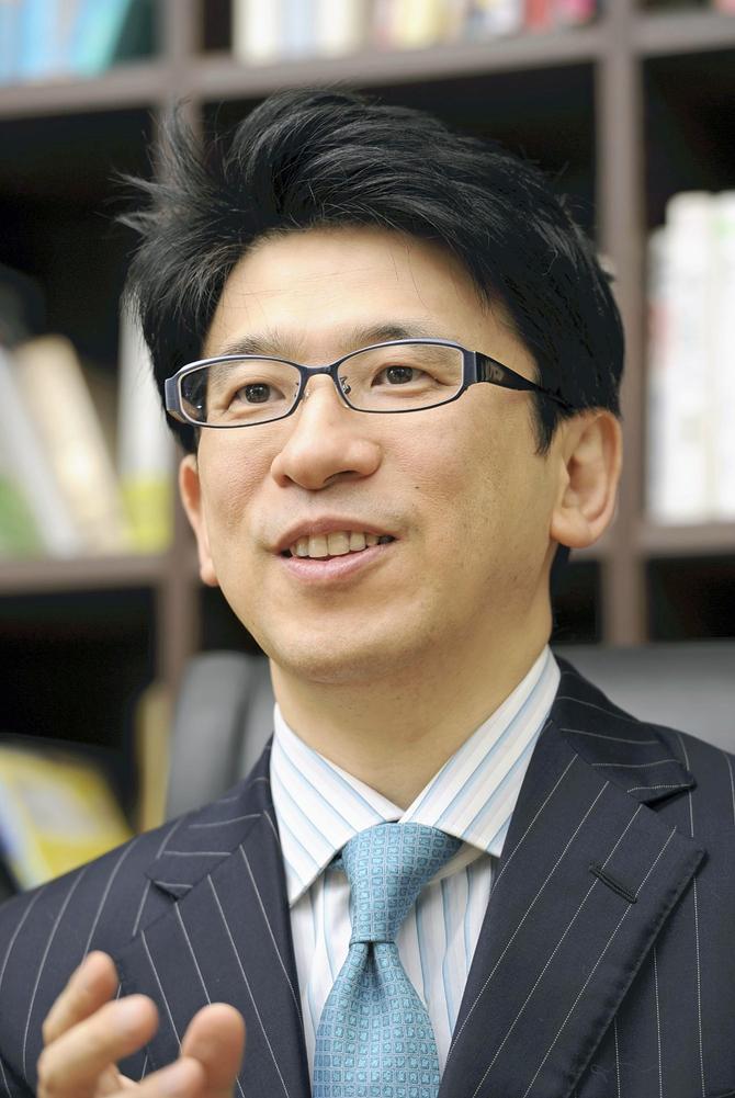 明治大学文学部教授・齋藤孝氏