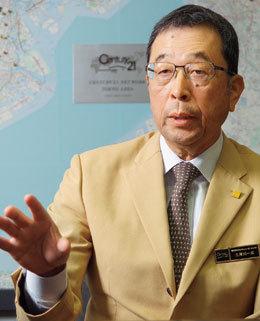 三津川一成社長