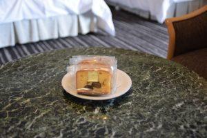 ホテルニューオータニ大阪のウェルカムギフトの焼き菓子