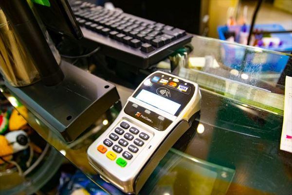 ハワイのクレジットカード決済端末