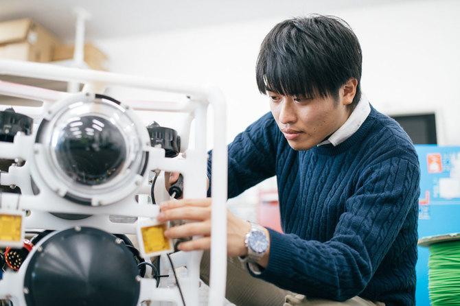 ロボット設計技術者の大阪拓真さん
