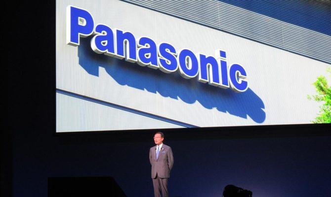 昨秋講演する津賀一宏社長兼CEO。現在頭の中にある後継者は?
