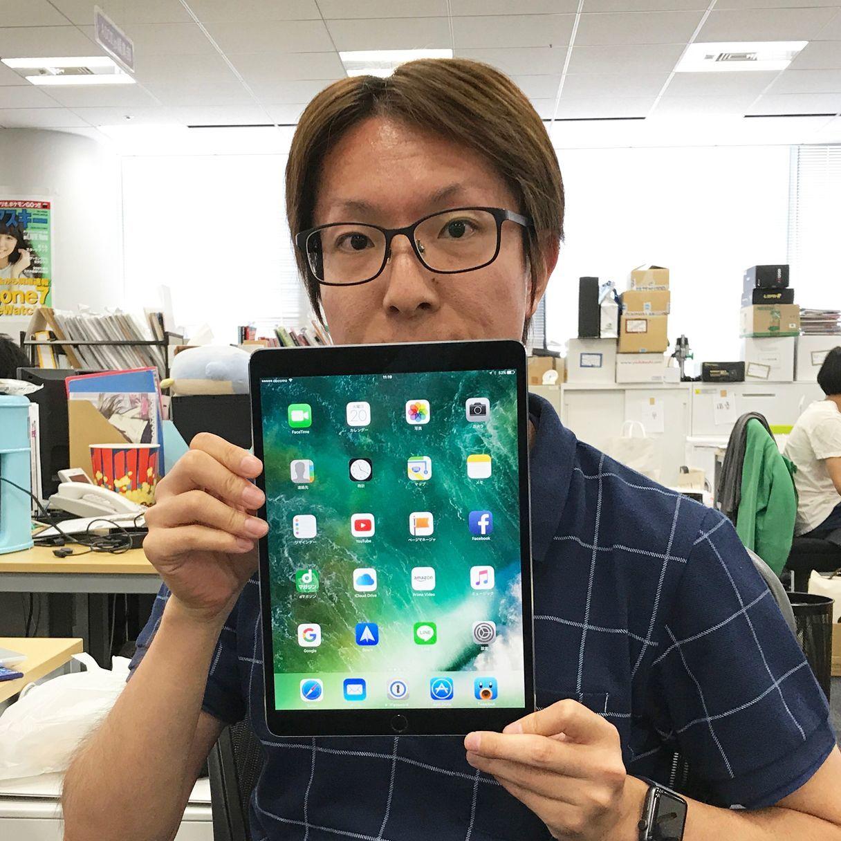 佐藤まが迷って決められない最強ガジェット「10.5型iPad Pro」「Galaxy S8」