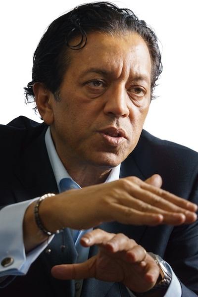 ラジーブ・ミスラ・ソフトバンクグループ副社長