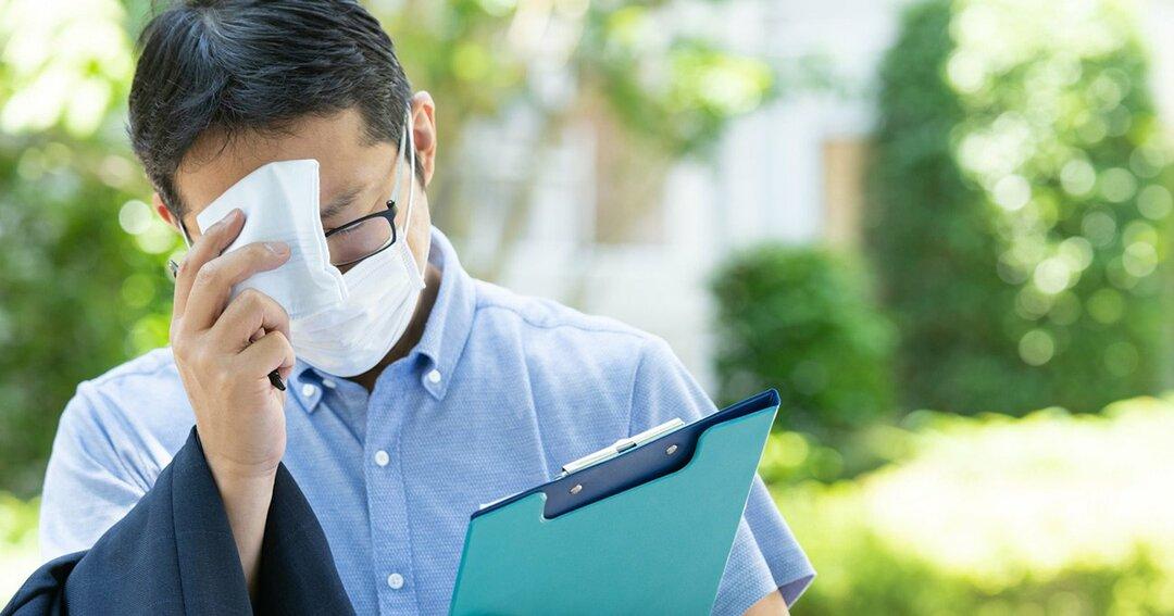 熱中症対策とコロナ対策