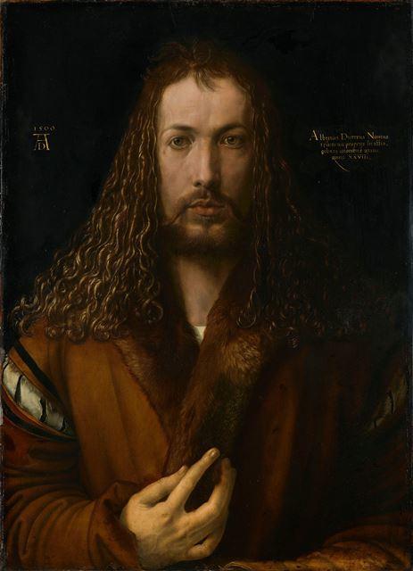 アルブレヒト・デューラー『1500年の自画像』