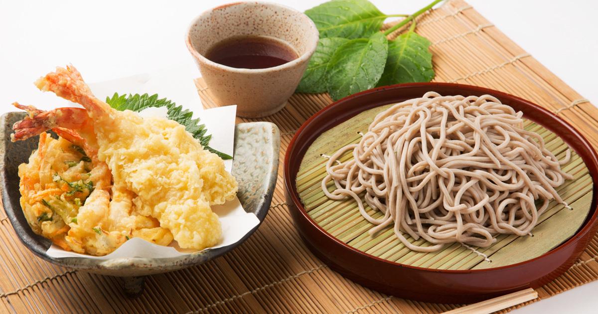 「ざるそば」よりも「天ぷらそば」が太りにくい理由