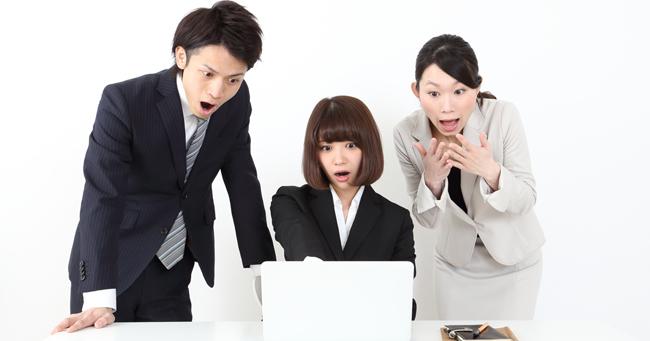 ビジネスメールで大失敗する新人