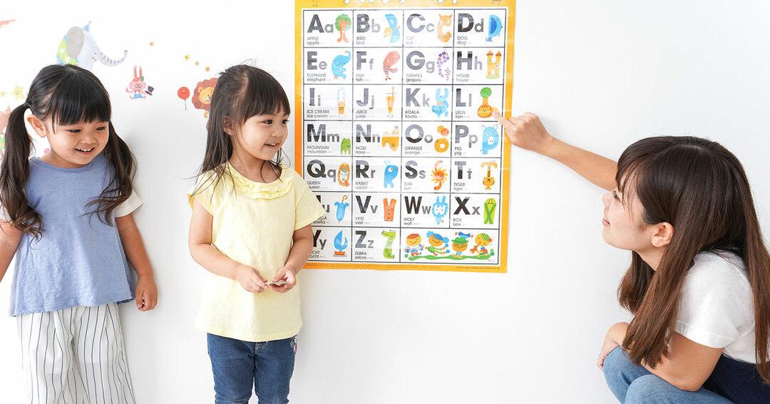 幼児期に外国語を学ばせた<br />ほうがいいですか?