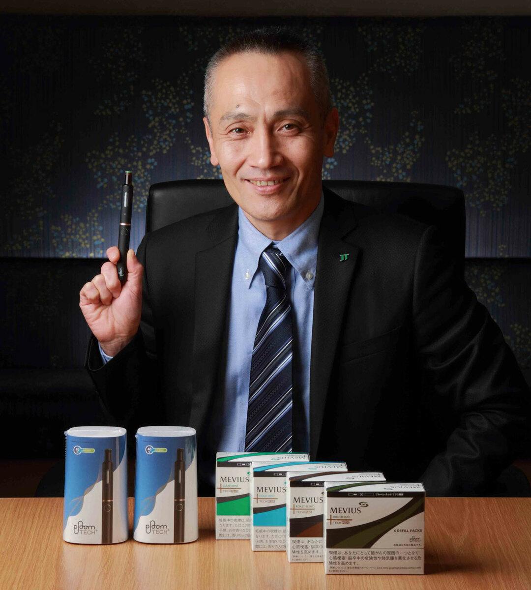JT たばこ事業本部 R&Dグループ 開発責任者の山田 学氏