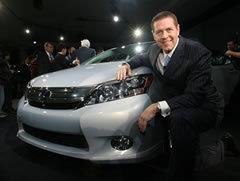 米国トヨタ販売首脳インタビュー<br />「レクサスに電気自動車があってもよい」