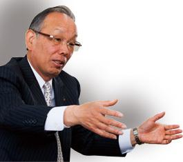 川崎重工業社長 長谷川 聰<br />機器の単品販売ばかりでなく<br />システム全体で解決策を出す