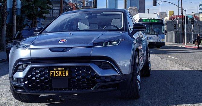 フィスカー・オーシャン 上級グレードは4WD