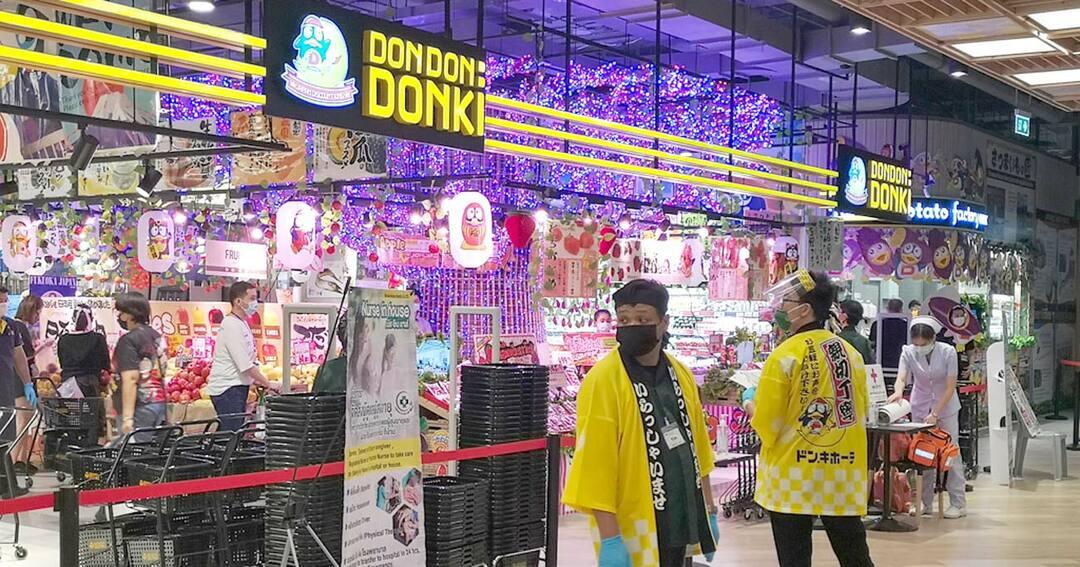 タイのドン・キホーテ2号店の開店当日