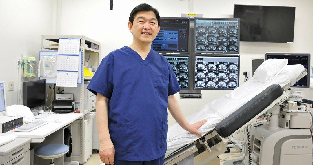 肝臓がんに対するラジオ波治療の第一人者として知られる椎名秀一朗医師(順天堂大学大学院医学研究科画像診断・治療学教授)