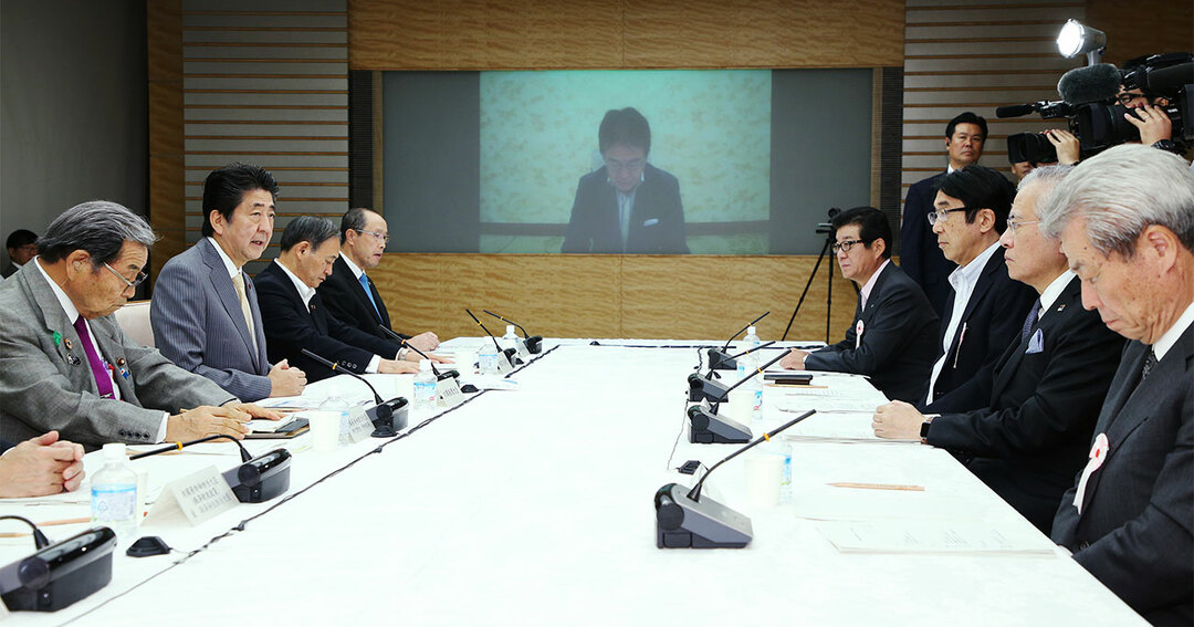 9月30日に行われた国家戦略特別区域諮問会議