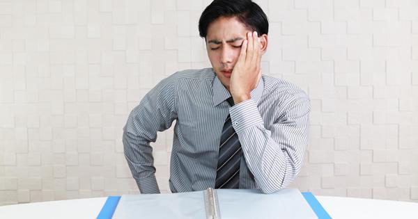職場のストレスを放置していませんか?