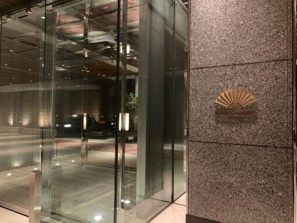 マンダリン オリエンタル 東京の入り口