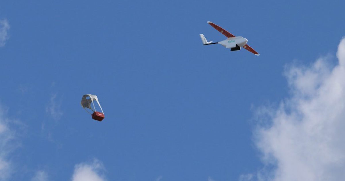 Advances in life-saving drones