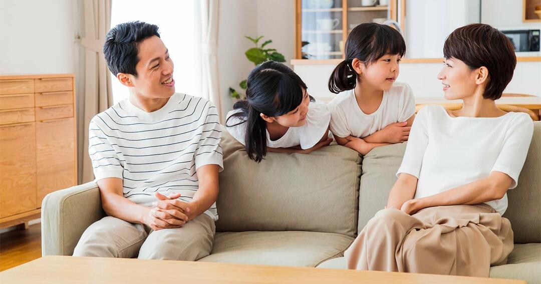 家族との対話
