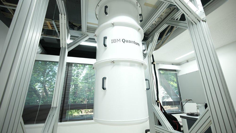 東京大学浅野キャンパスに設置されたIBMの量子コンピューターの試験設備