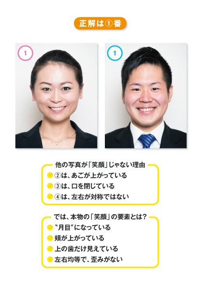 9割の人が笑顔でソンしている!?<br />「いい笑顔」「ソンな笑顔」を、写真で初公開!!