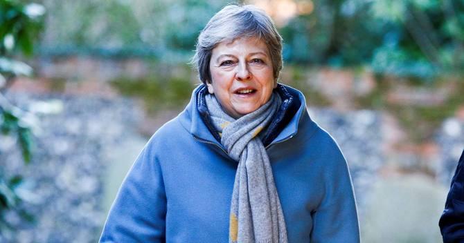 メイ英首相が目指していた欧州連合(EU)離脱協定案の再採決の実現が難しく