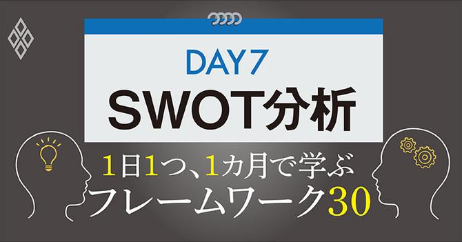フレームワーク SWOT分析